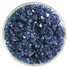 Bullseye Steel Blue Transparent Frit Coarse 90 COE