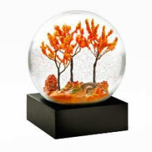 Autumn Snow Globe