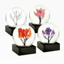 Four Seasons Mini Snow Globe Set