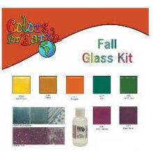 Colors For Earth Fall Glass Paint Kit