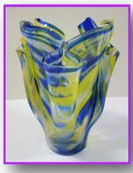 Introduction to Glass Fusing Saturdays July 11 - August 8