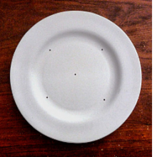 Rim Salad Plate Mold 8.75 inches