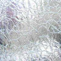 Oceanside Clear Crackle Glass