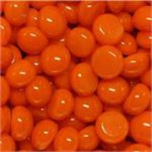 Glass Polka Dots Orange 96 COE