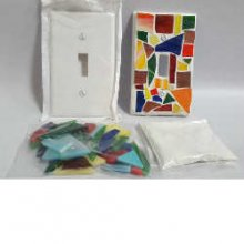 Mosaic Light Switch Plate Kit