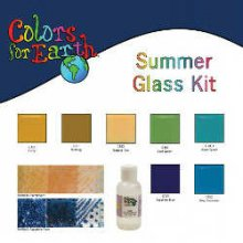 Colors For Earth Summer Glass Paint Kit