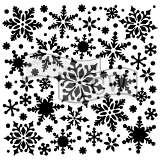 Snowflakes Fusing Stencil