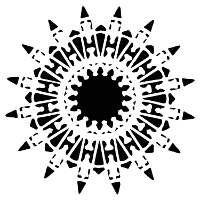 Native Star Fusing Stencil