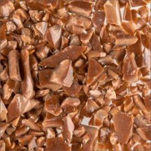 Oceanside Compatible Chestnut Brown Opal Frit Coarse 96 COE