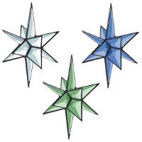 3-D Closed Center Star Bevel Cluster Kit