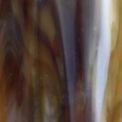 Kokomo Brown, Amber, and White Opalescent Art Glass