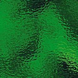 Oceanside Medium Green Hammered Glass