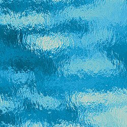 Oceanside  Sky Blue Rough Rolled Glass
