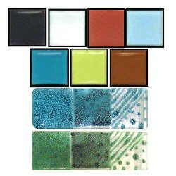 Colors For Earth Winter Glass Paint Kit