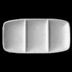 Three Section Rectangle Candy Dish Mold