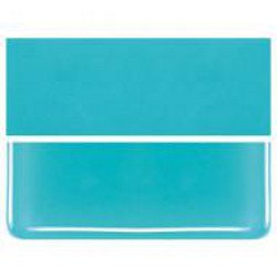 Bullseye Thin 2mm Turquoise Blue Fusible Glass 90 COE