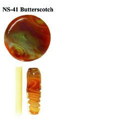 Northstar Glassworks 041 Butterscotch Rod 33 COE