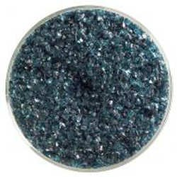 Bullseye Blue Aventurine Transparent Frit Medium 90 COE